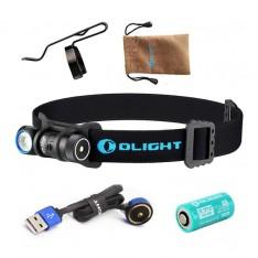 Фонарь Olight H1R Nova NW + аккумулятор и зарядное