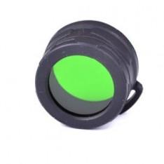 Диффузор-фильтр для фонарей Nitecore NFG23 (22-23mm), зеленый