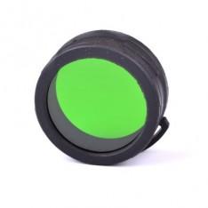 Диффузор-фильтр для фонарей Nitecore NFG60 (60mm), зеленый