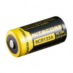 Аккумулятор литиевый Li-Ion CR123A / 16340 Nitecore 3.7V (650mAh), защищенный