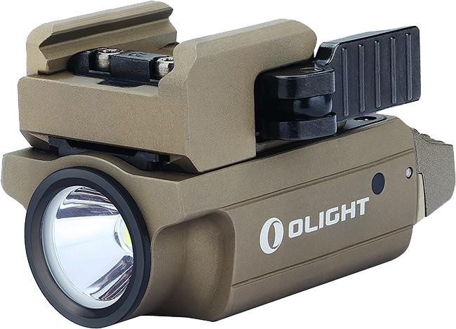 Фонарь Olight PL-MINI 2 Valkyrie пистолетный под Пикатинни песочный