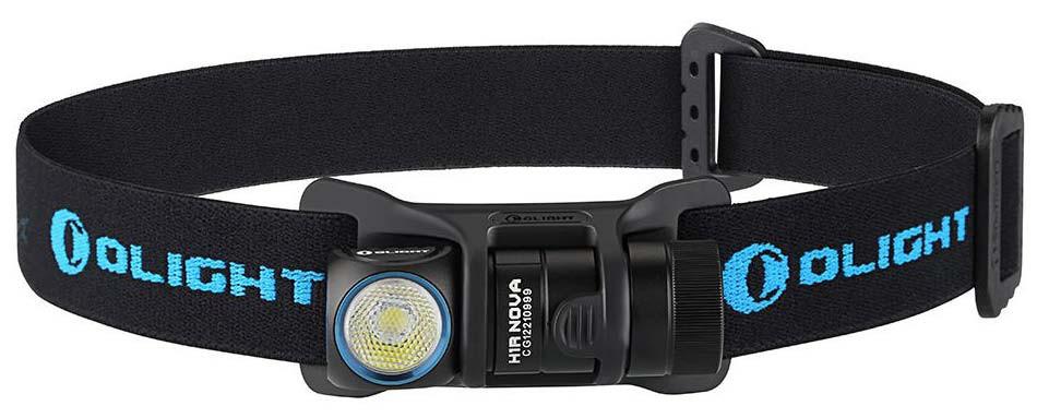 Налобный фонарь Olight H1R Nova CW + аккумулятор и зарядное