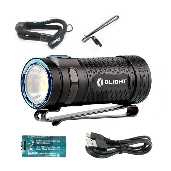 Фонарь Olight S1 Mini HCRI + аккумулятор и зарядка!